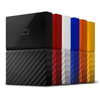 WD My Passport 4TB 2.5吋行動硬碟(WESN)