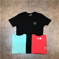 【Faithful】HUF DOMESTIC BOX OVERDTE TEE 土黃 桃紅 湖水綠 黑 S-L