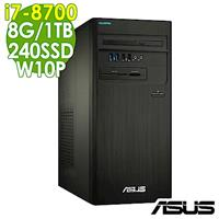 ASUS M840MB i7-8700/8G/1T+240SSD/W10P