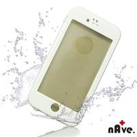 【nAve】iPhone6防水手機殼(白)
