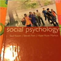 SocialPsychology(7th)/社會心理學