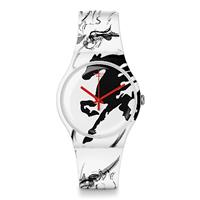 Swatch 生肖錶系列 YEAR OF THE HORSE 甲午年馬手錶