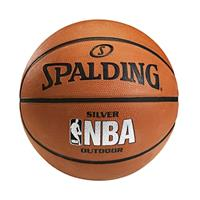SPALDING  銀色NBA - Rubber 6號 籃球