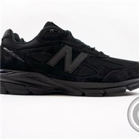 【A-KAY0】NEW BALANCE 990【M990BB4】TRIPLE BLACK 麂皮X皮革X網布 美國製 黑