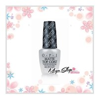 ☆MEGA SHOP☆ OPI MATTE TOP COAT.薄霧森林霧面護甲油(NTT35)