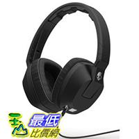 [104美國直購] Skullcandy Crusher Over-Ear Headphones with Built-in Amplifier Mic - Black