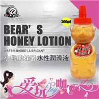 日本 @‧ONE 小熊的蜂蜜水性潤滑液 BEAR'S HONEY LOTION 300ml