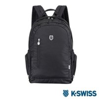 K-Swiss CS BS Backpack休閒後背包-黑