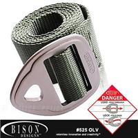 BISON Danger Belt 腰帶# 525OLV【AH24058】i-Style居家生活