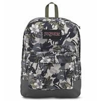 JANSPORT-BLACK SUPERBREAK系列後背包-迷彩花