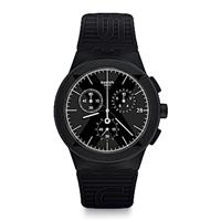 Swatch The X-Vibe X-DISTRICT BLACK 黑色特區手錶