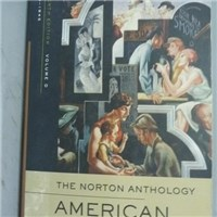 【書寶二手書T9/原文書_QGR】The Norton Anthology American Literature-Vo