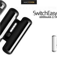 SwitchEasy TANKS 6000mAh 2.1A USB 行動電源