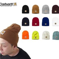 Admonish   Carhartt A18 Acrylic Watch Hat 防寒冷反摺素色毛帽 625cdade9fc3