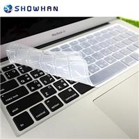 【SHOWHAN】Apple MacBook Pro/Air 13/15/17吋透明鍵盤膜