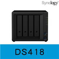 Synology 群暉科技 DiskStation DS418 4Bay NAS 網路儲存伺服器