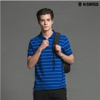 K-Swiss Chest Stripe Polo短袖POLO衫-男