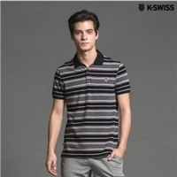 K-Swiss Multi Color Stripe Polo短袖POLO衫