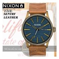 NIXON 實體店THE SENTRY LEATHER腕錶A105-2731