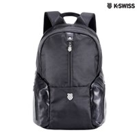 K-Swiss Solid Backpack休閒後背包-黑