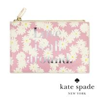 KATE SPADE 小白花萬用收納化妝包 Love Is All Around