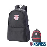 K-SWISS Heritage Backpack休閒後背包-黑