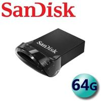 【SanDisk 晟碟】64GB 130MB/s Ultra Fit CZ430 USB3.1 隨身碟(平輸)