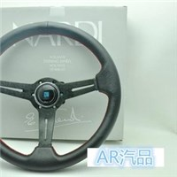 [AR汽品]350MM 平面小凹方向盤 NARDI SWIFT K6 K8 LANCER GC8 K9 MOMO
