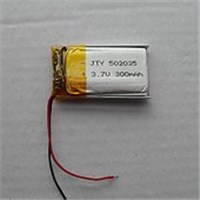 3.7V 502035 052035 300mah 航模 藍牙電池 藍牙耳機電池  電池
