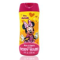 【美國熱銷卡通 Disney Minnie】沐浴乳(236ml/8oz)
