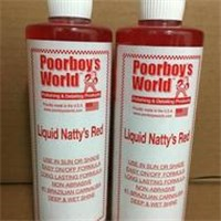 ~愛車舖~Poorboy's 窮小子紅蠟 Liquid Natty's Red 16 oz