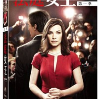 法庭女王 第1季 DVD The Good Wife Season 1 免運 (購潮8)