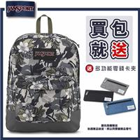 【JANSPORT】BLACK SUPERBREAK系列後背包 -迷彩花(JS-43520)