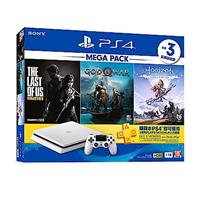 PlayStation 4 MEGA PACK 同捆組 1 (白)