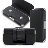 CityBoss 舒適頂級 For 三星 Samsung Note 8/Note 5/Note 4/Note 3 真皮腰掛皮套