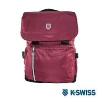 K-Swiss CS FC Backpack休閒後背包-酒紅