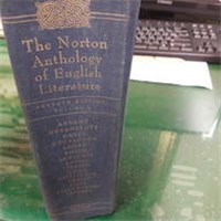 The Norton Anthology of English Literature/ Volume1 有畫記40P